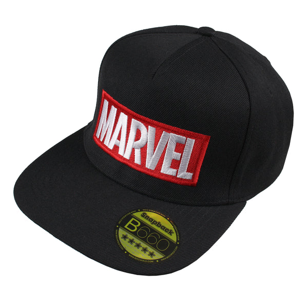 Marvel Mens - Logo - Cap - Black
