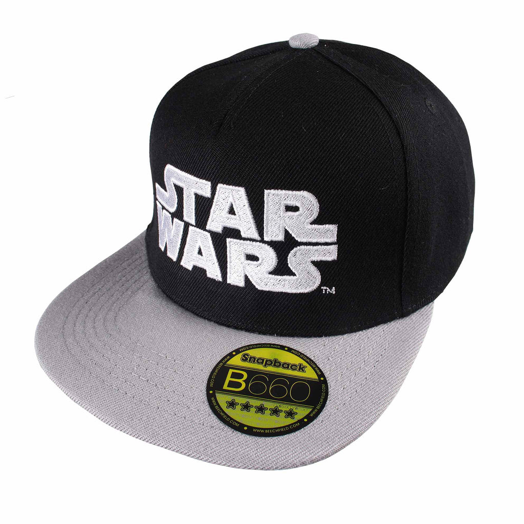 Star Wars Mens - Logo - Cap - Black/Grey