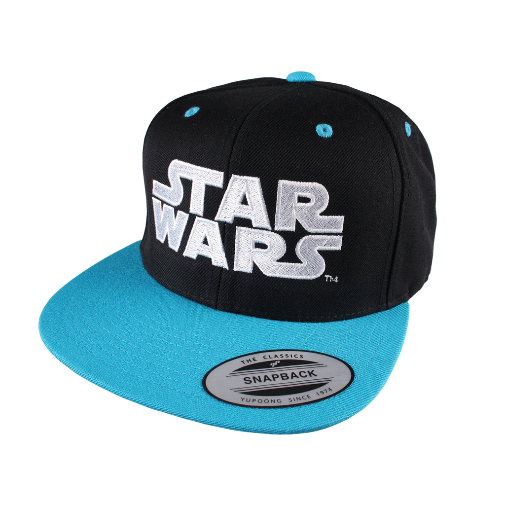 Star Wars Mens - Logo - Cap - Black/Blue - CLEARANCE