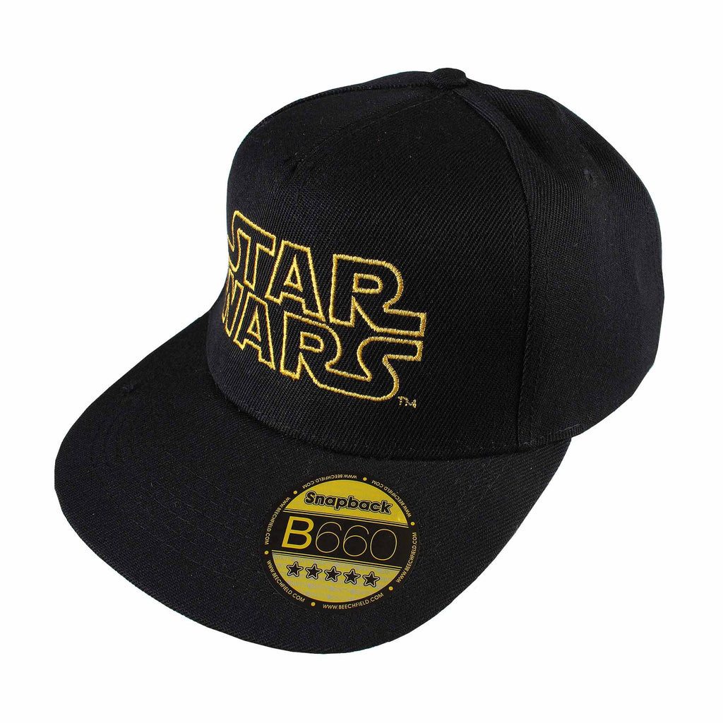 Star Wars Mens - Retro Logo - Cap - Black