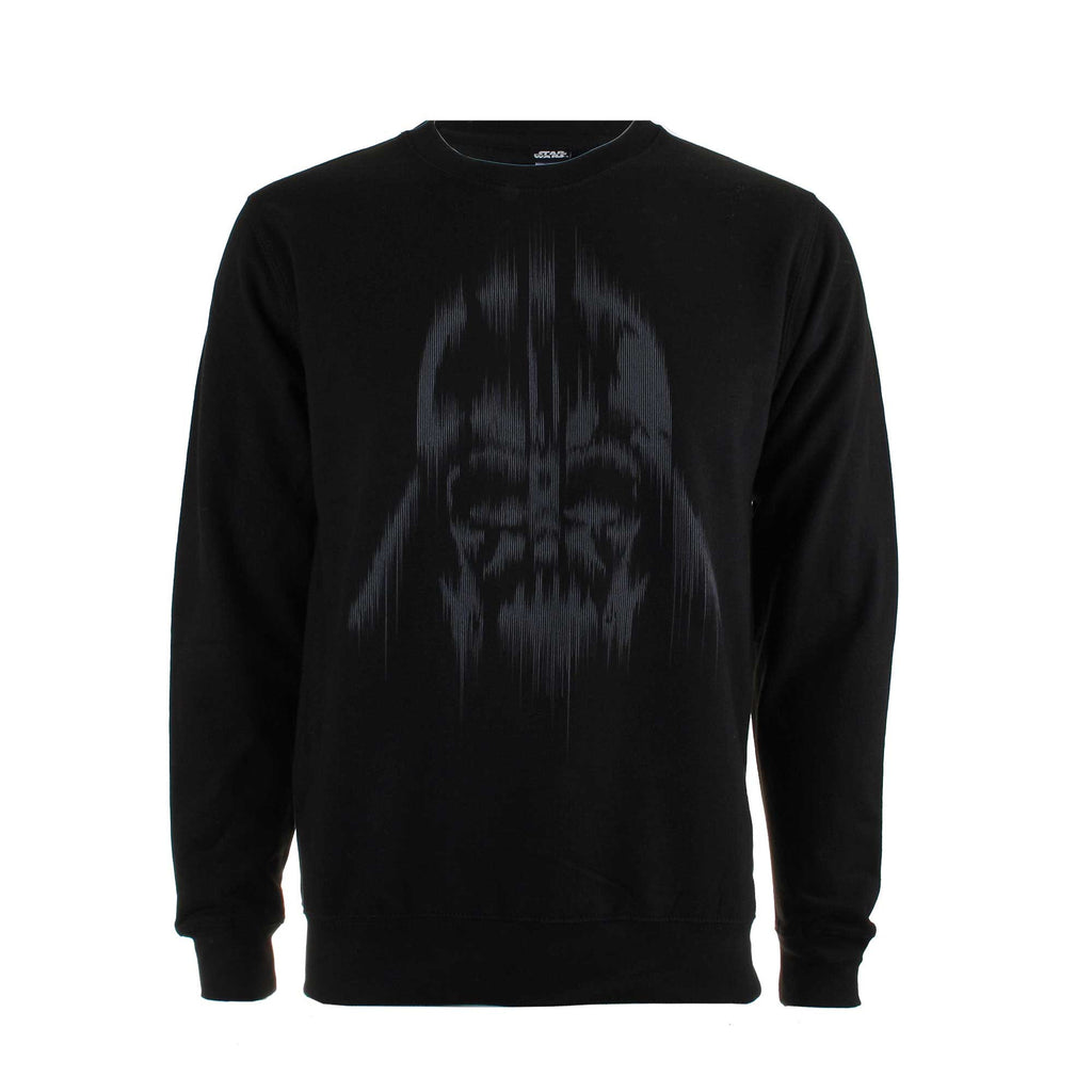 Star Wars Mens Vader Lines Crew Sweat - Black