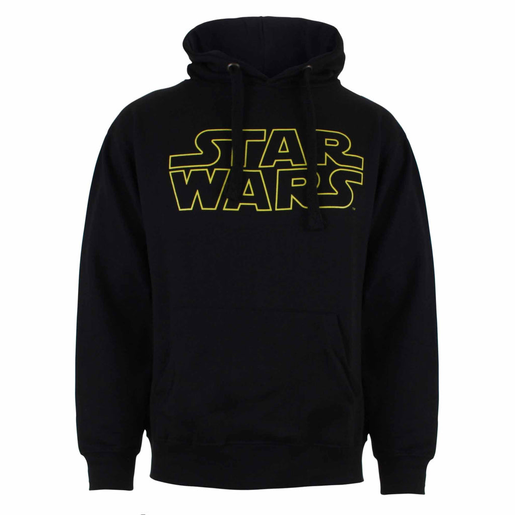 Star Wars Mens - Basic Logo - Pullover Hood - Black - CLEARANCE