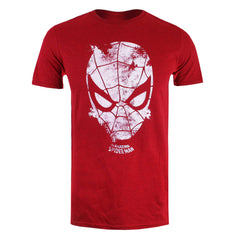 Marvel Mens Webhead T-Shirt - Heather Red