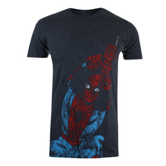 Marvel Mens Spidey Swing T-Shirt - Dark Heather