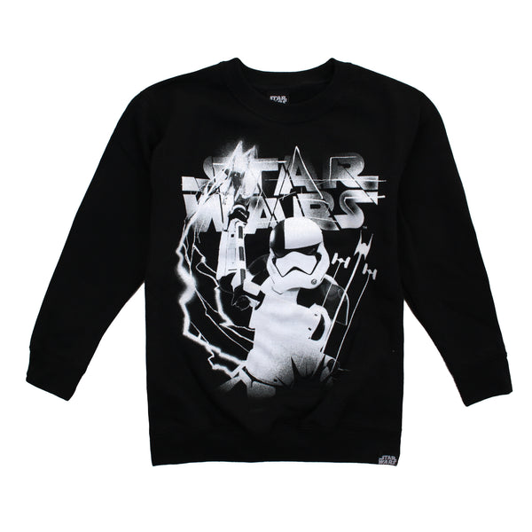 Star Wars Boys - Executioner - Crew Sweat - Black