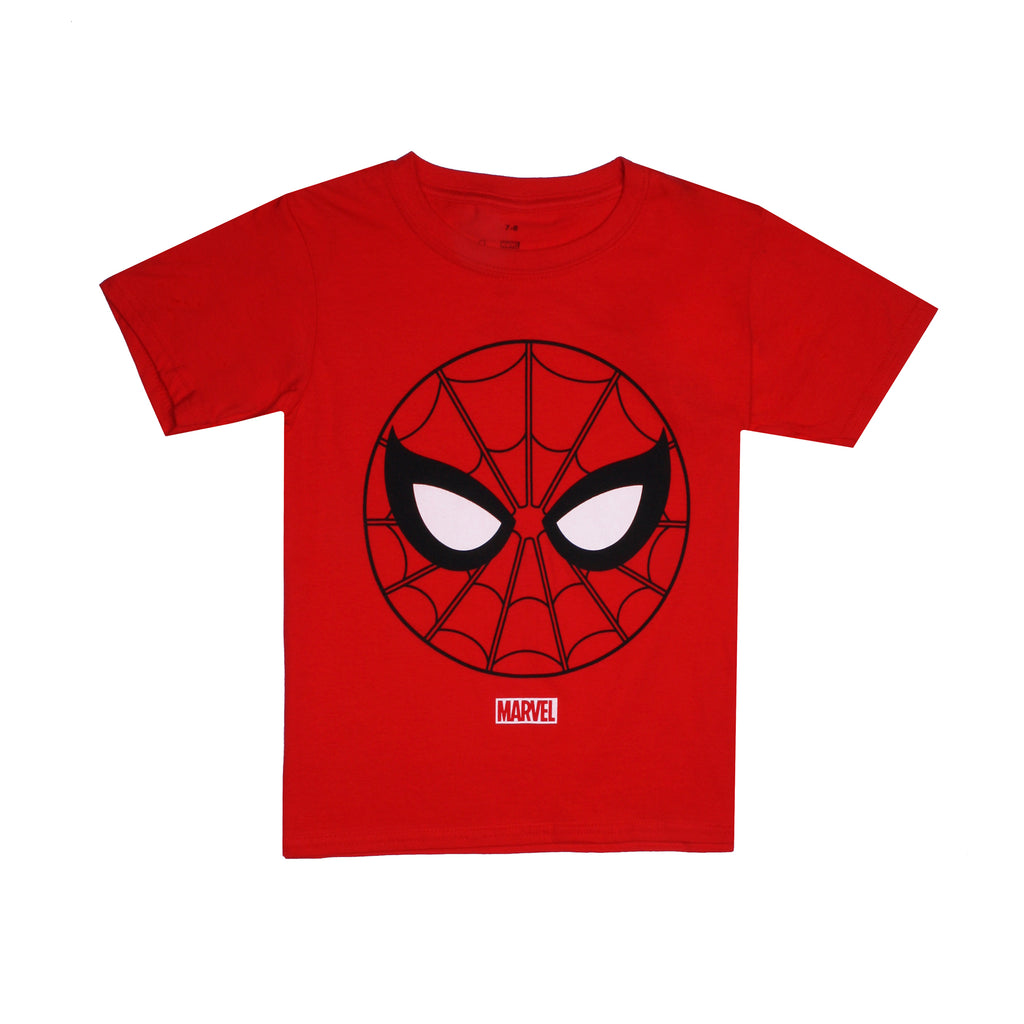 Marvel Boys - Spidey Emblem - T-Shirt - Red