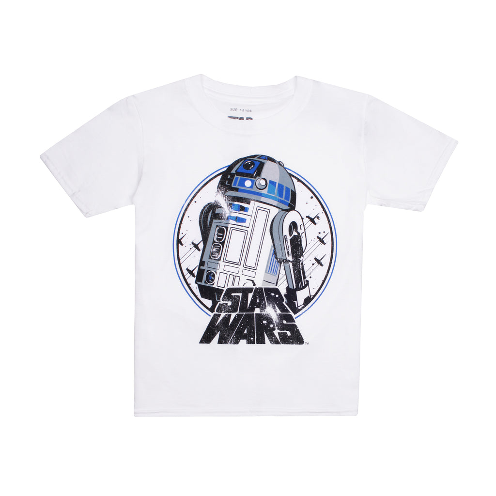 Star Wars Boys - R2 - T-Shirt - White