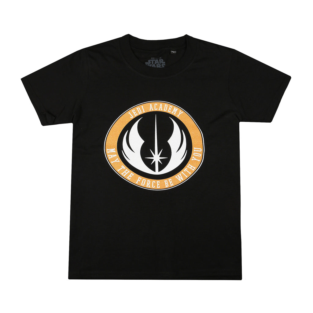 Star Wars Boys - Jedi Academy - T-Shirt - Black