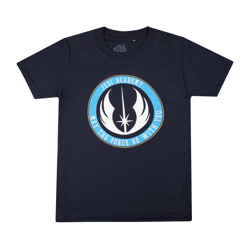 Star Wars Boys - Jedi Academy - T-Shirt - Navy