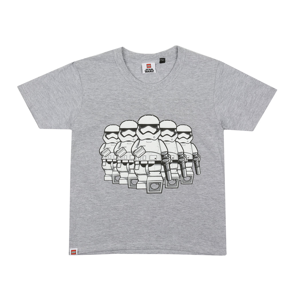 Lego Boys - Trooper March - T-shirt - Grey