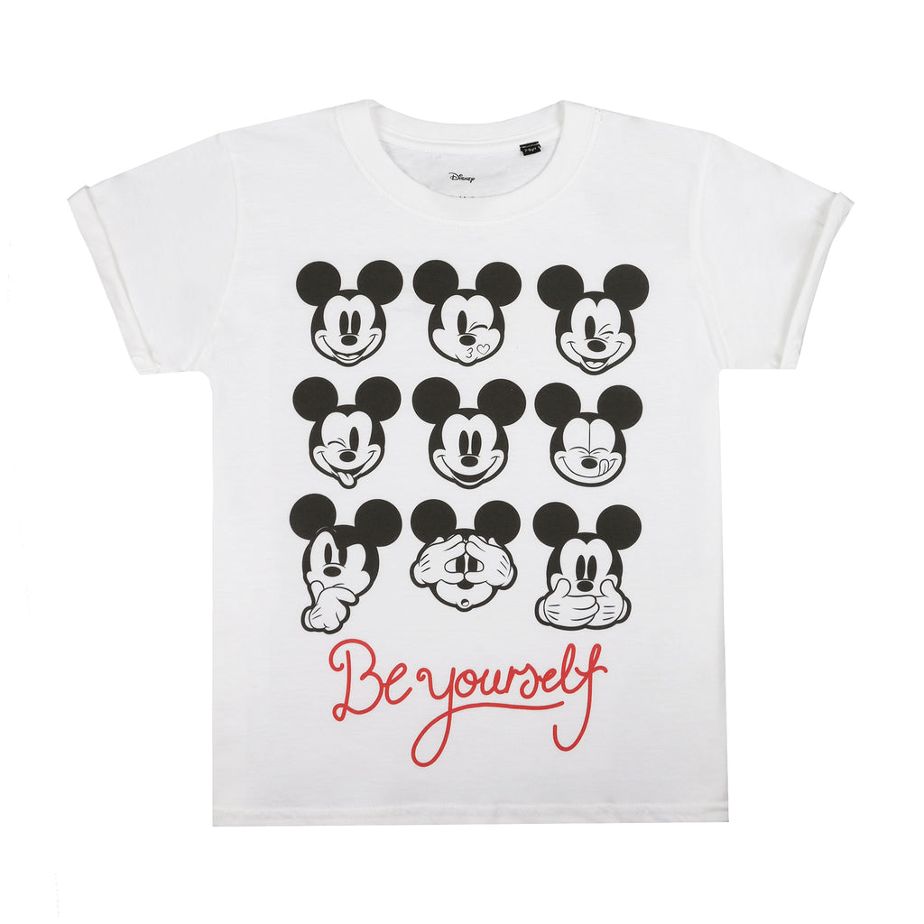 Disney Girls - Be Yourself - T-Shirt - White