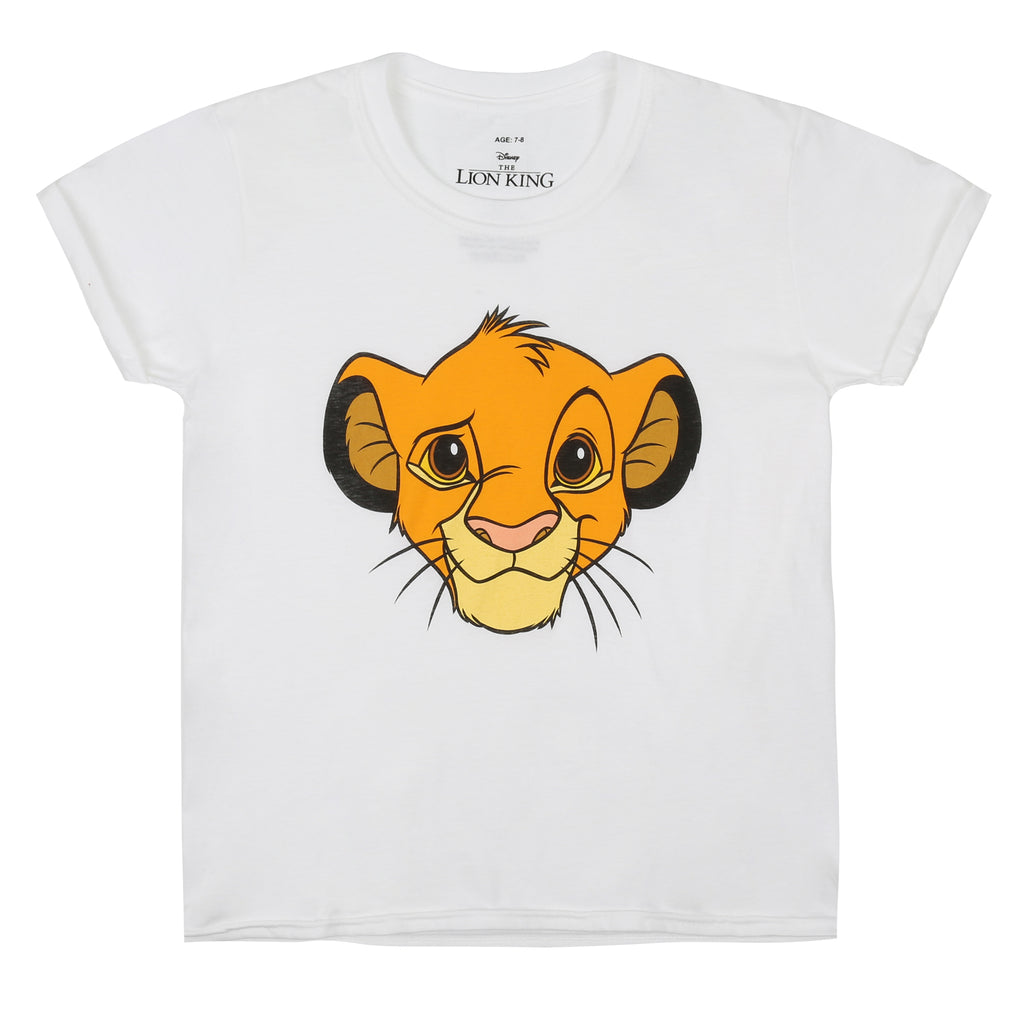 Disney Kids - Lion King - Simba - T-shirt - White