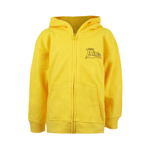 Minions Boys - Team Minion Jump - Pullover Hood - Yellow