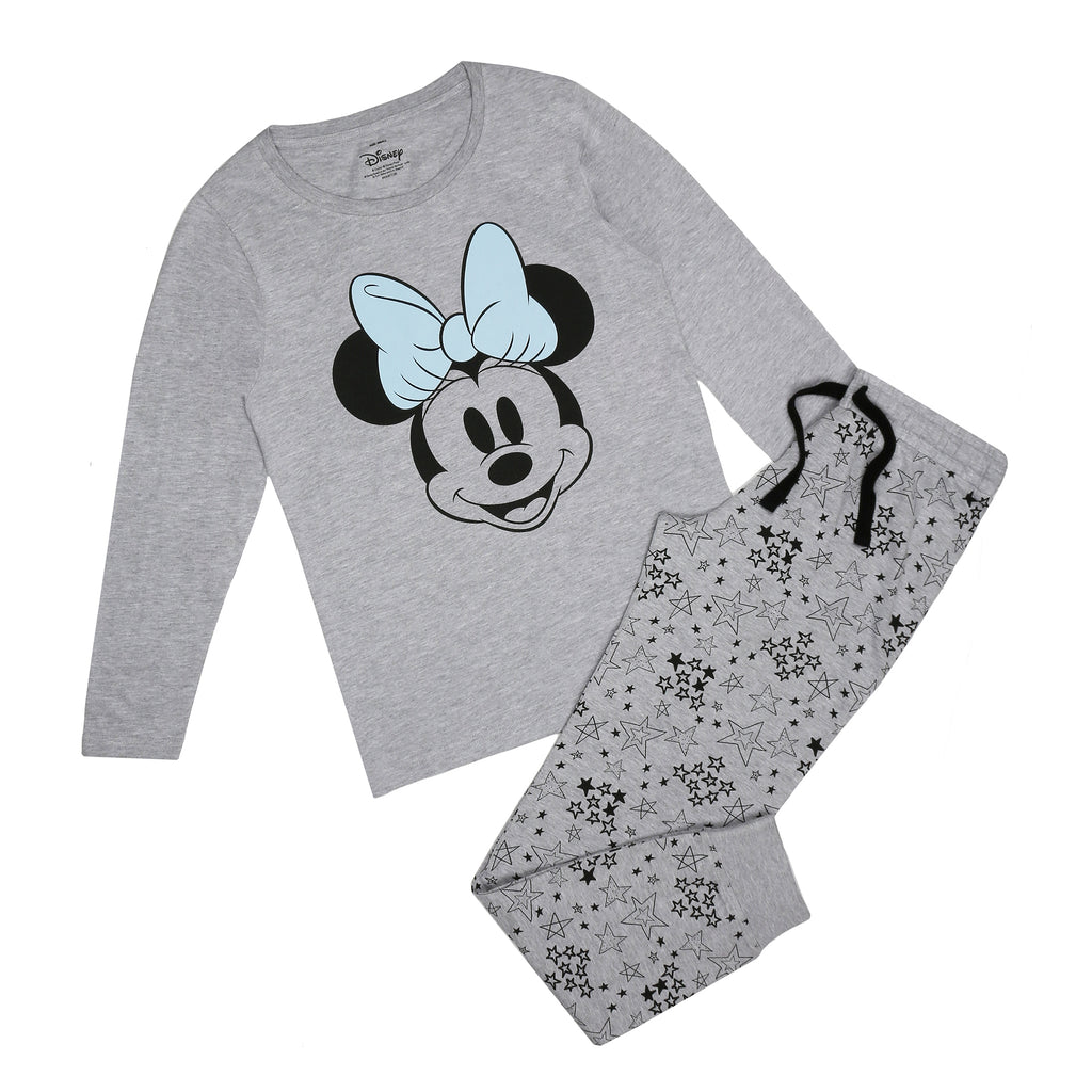 Disney Ladies - Minnie Smile - Long Sleep Set - Multi