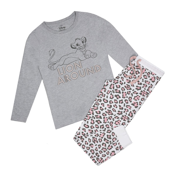 Disney Ladies - Lion King - Lion Around - Long Sleep Set - Multi