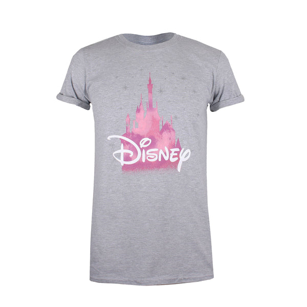 Disney Ladies - Disney Castle - T-Shirt - Grey