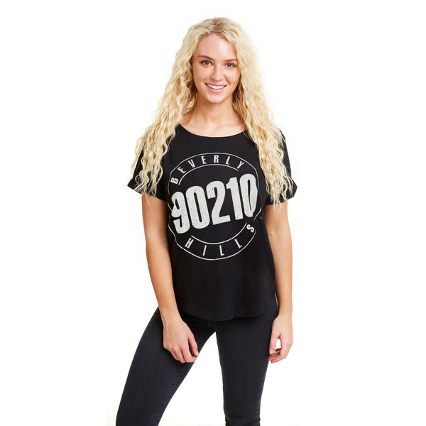 90210 Ladies - Logo - T-Shirt - Black
