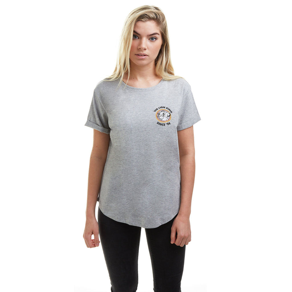 Disney Ladies - Lion King 94 - T-shirt - Grey Heather