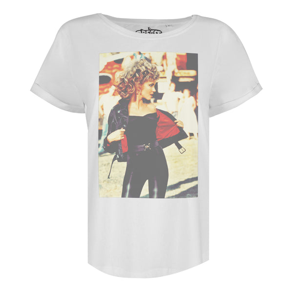 Grease Ladies - Bad Girl - T-Shirt - White