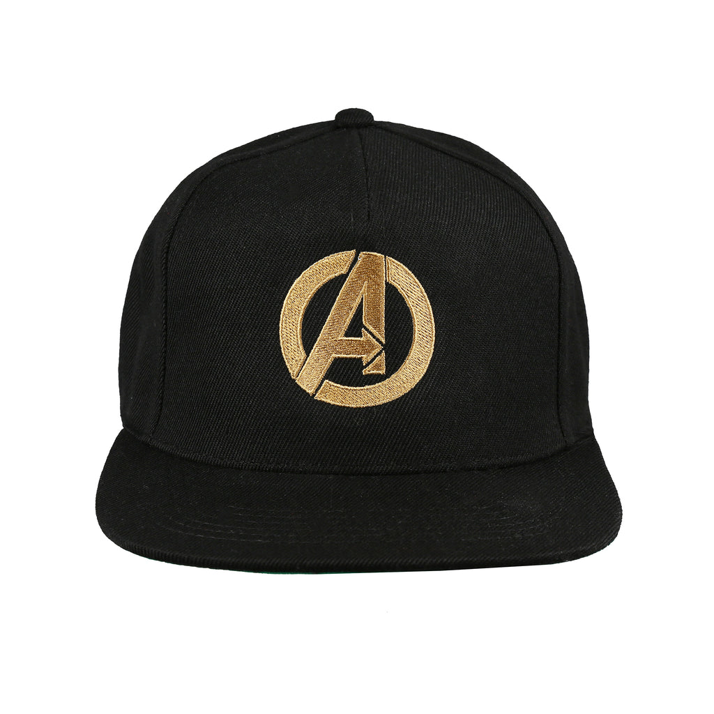 Marvel Mens - Avengers Logo - Cap - Black