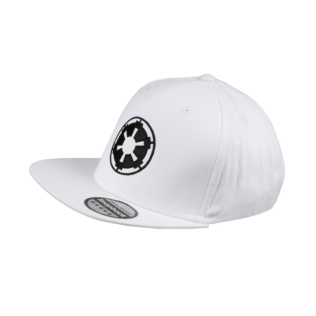Star Wars Mens - Empire Logo - Cap - White