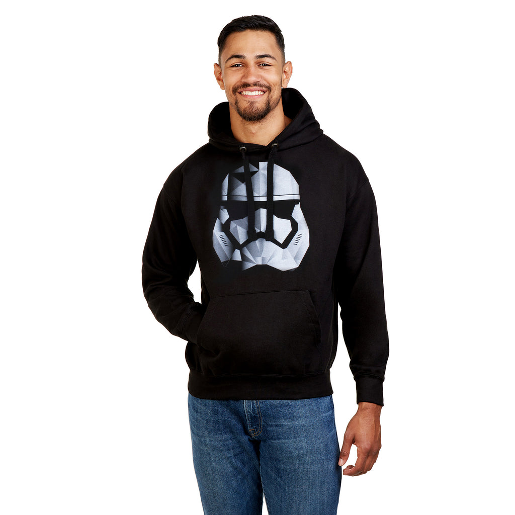 Star Wars Mens - Storm Trooper - Pullover Hood - Black