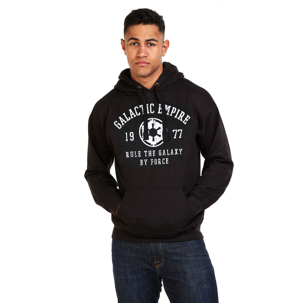 Star Wars Mens - Galactic Empire - Pullover Hood - Black