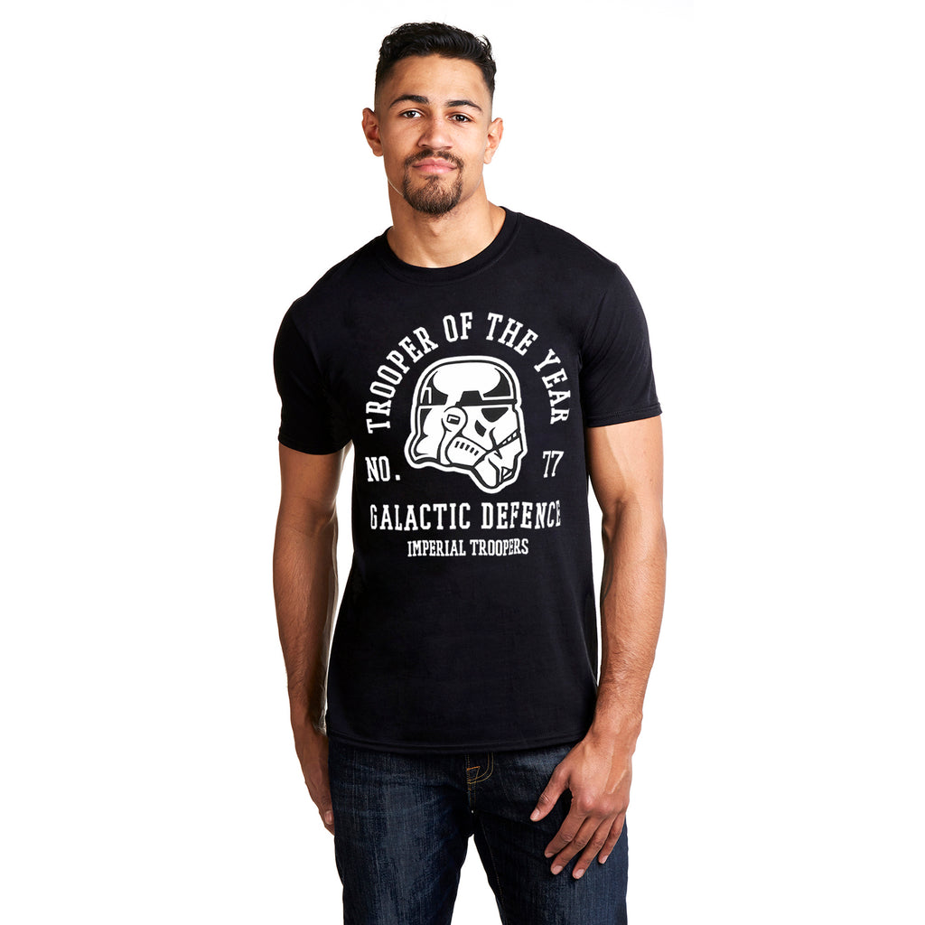 Star Wars Mens - Trooper of The Year - T-Shirt - Black