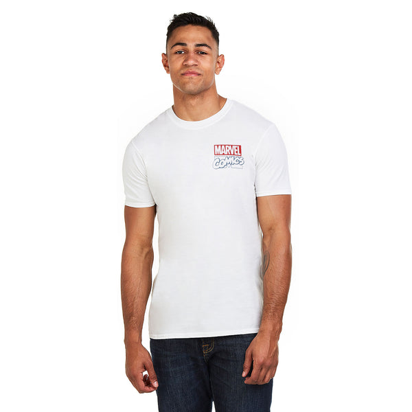 Marvel Mens - Cool It - T-shirt - White