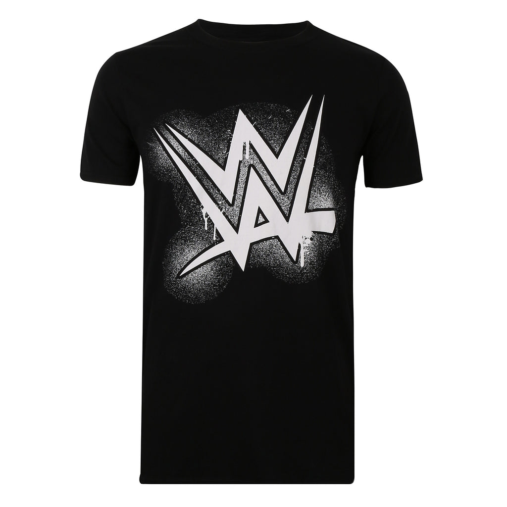 WWE Mens - WWE Paint - T-shirt - Black