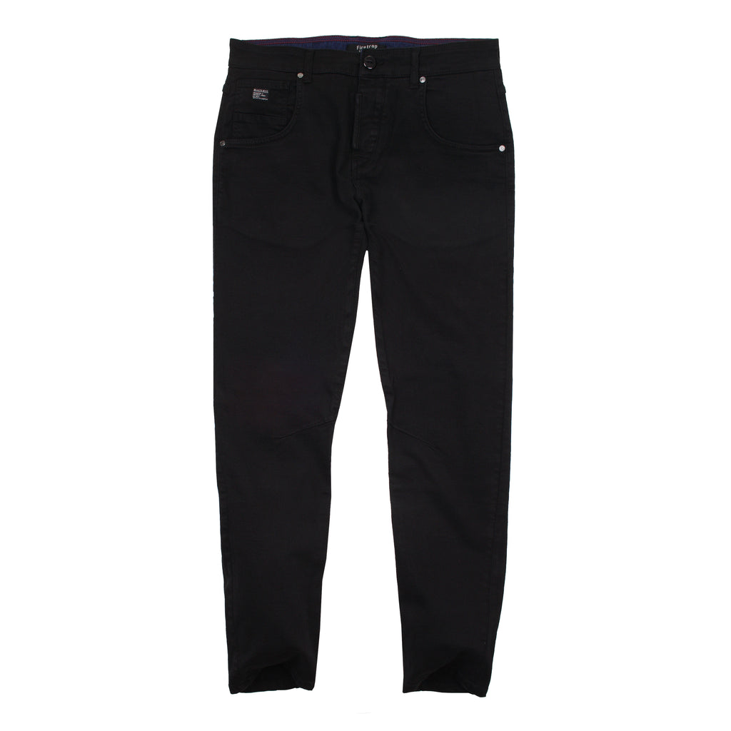 Firetrap Mens - Parlin (s) - Chinos - Black - CLEARANCE