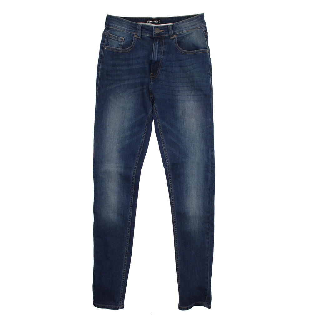 Firetrap Mens - Deadly Skinny (R) - Jeans - Dark Wash