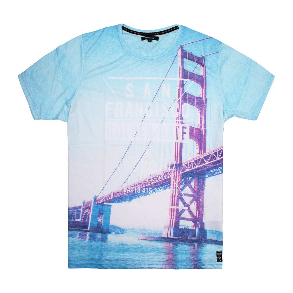 Firetrap Mens -  San Franciso - T-shirt - Multi