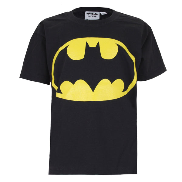 DC Comics Boys - Batman Logo - T-Shirt - Black