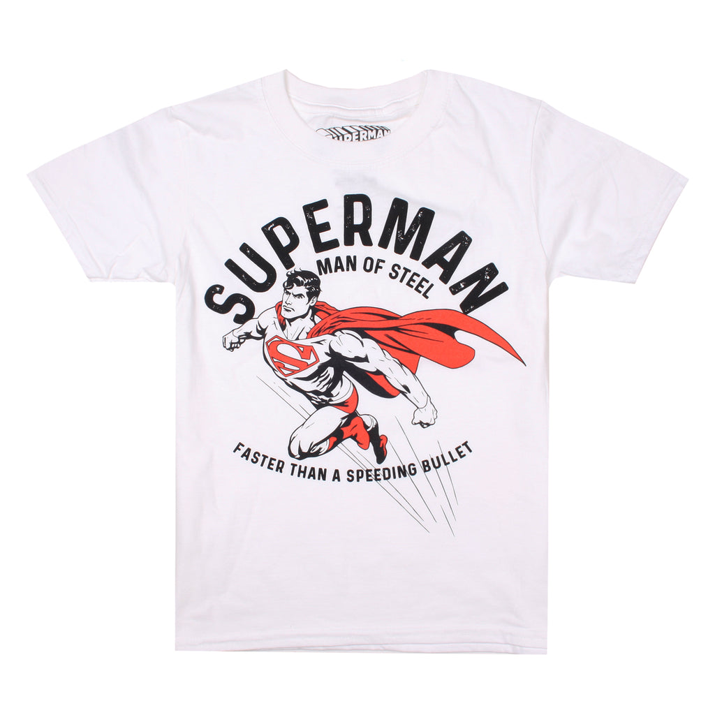 DC Comics Kids - Faster - T-shirt - White