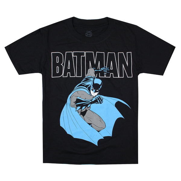 DC Comics Boys - Bat Attack - T-Shirt - Black