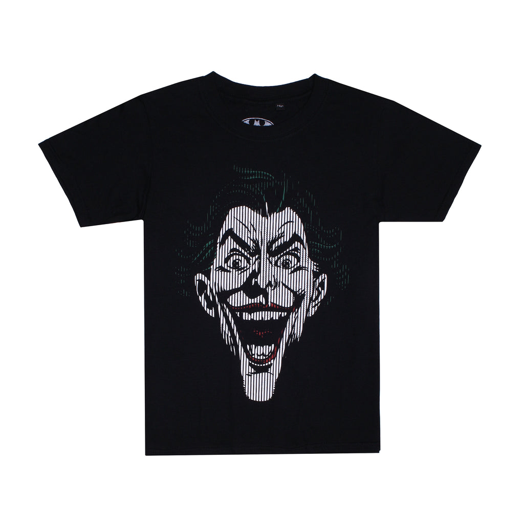 DC Comics Kids - Joker Lines - T-Shirt - Black