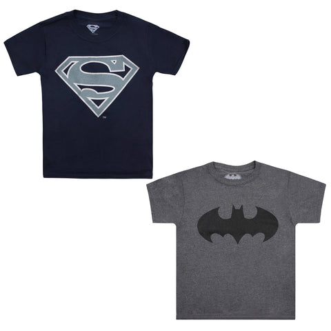 DC Comics - Superman / Batman 2 Pack Kids T-Shirts