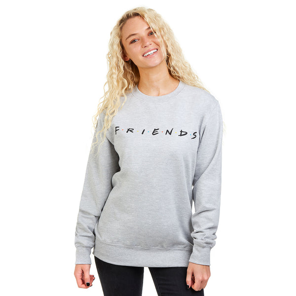 Friends Ladies - Titles - Crew Sweat - Grey Heather