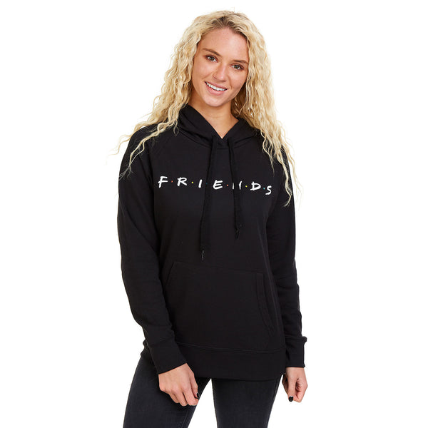 Friends Ladies - Titles - Pullover Hood - Black