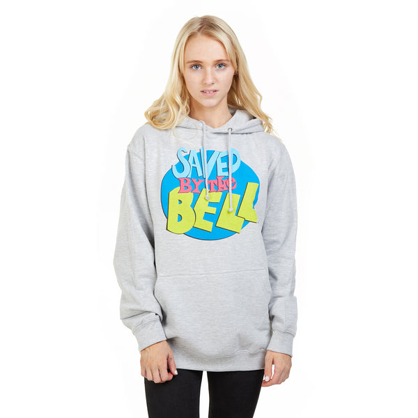 Saved By The Bell Ladies - Logo - Pullover Hood - Heather Grey