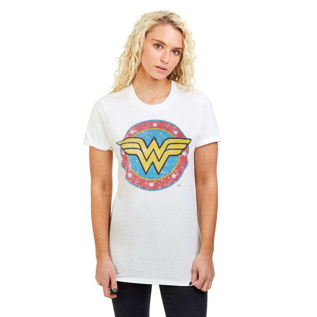 DC Comics Ladies - WW Classic - T-shirt - White
