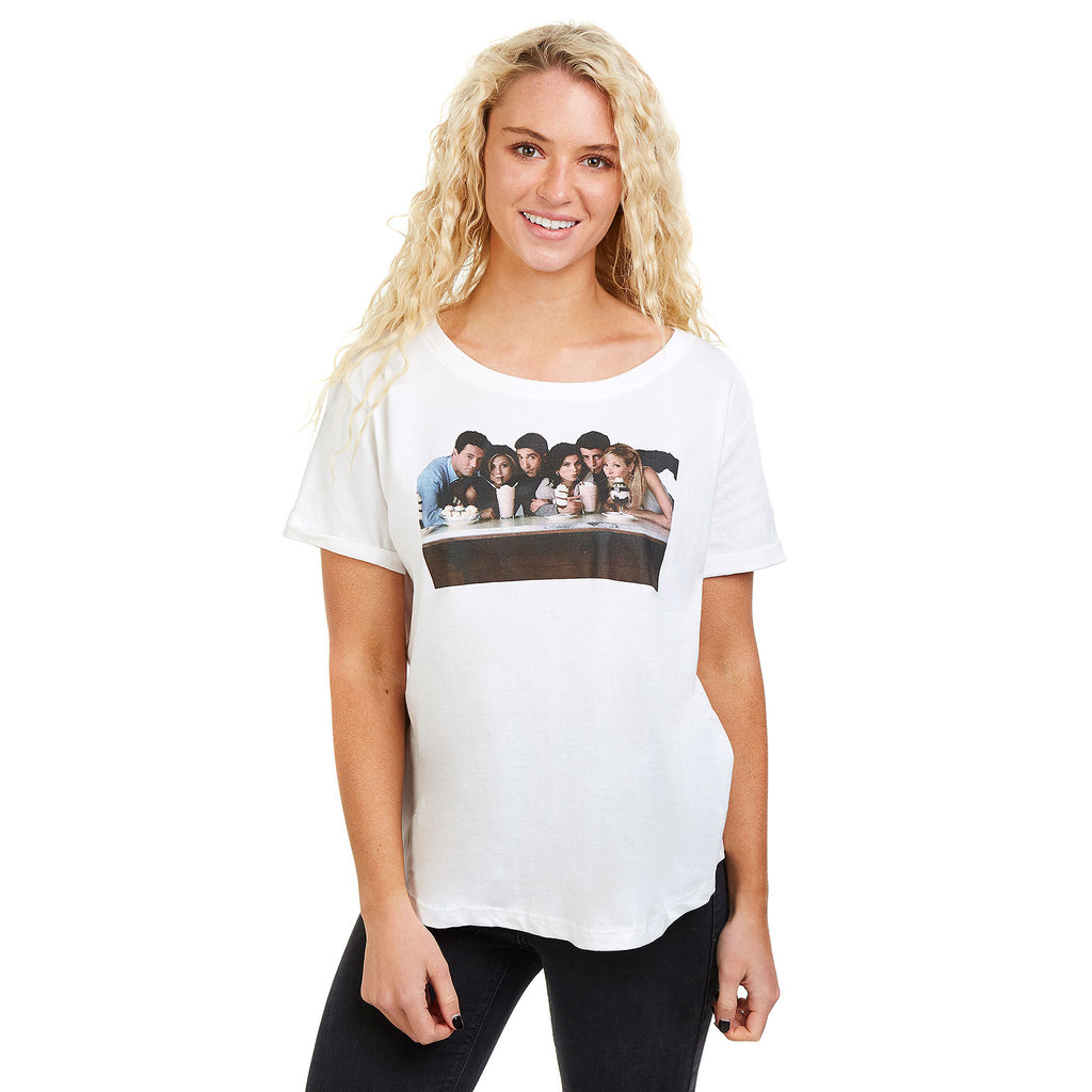 Friends Ladies - Milkshake - T-Shirt - White