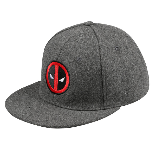 Marvel Mens - Deadpool Logo - Cap - Grey