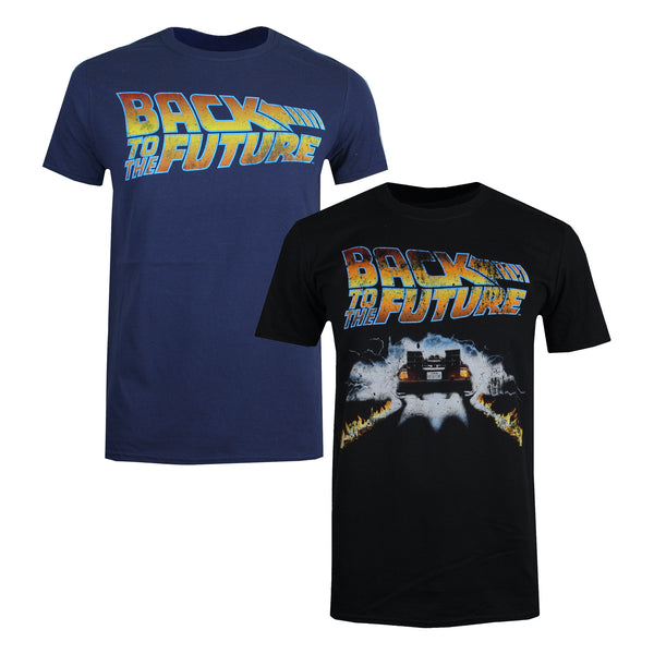 Back to the Future Mens - T-Shirt Pack - Multi