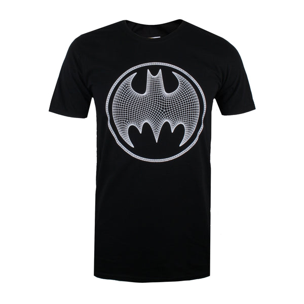 DC Comics Mens - Batman 3D - T-Shirt - Black