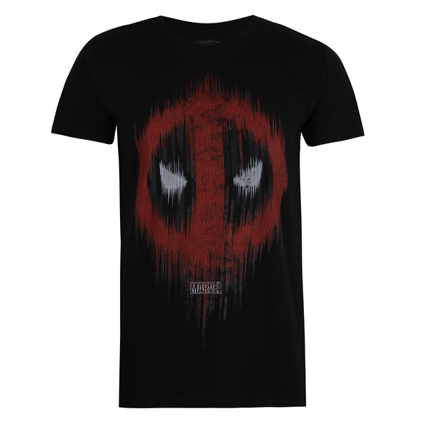 Marvel Mens - Deadpool Lines - T-shirt - Black