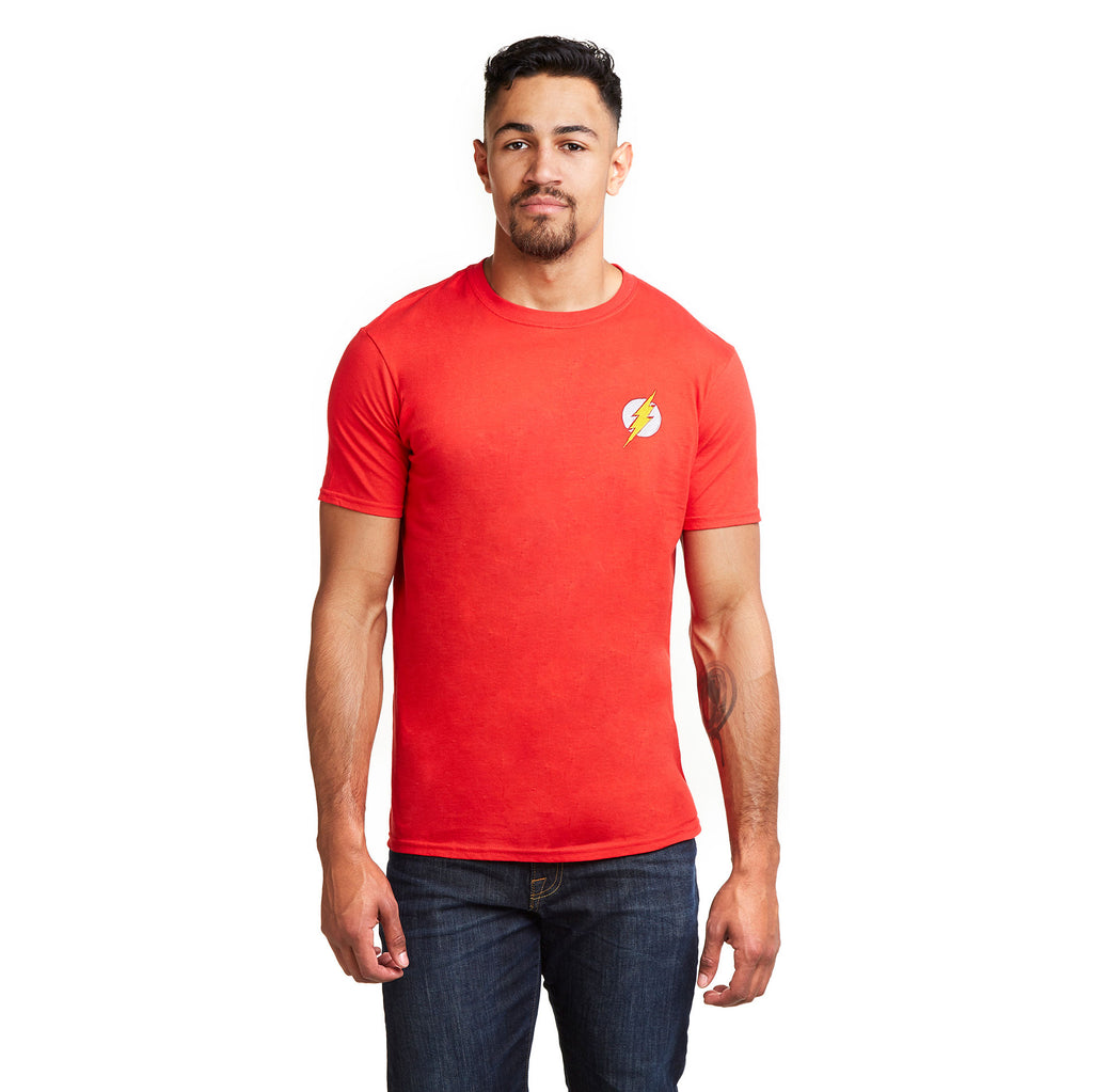 DC Comics Mens - Flash Core - T-shirt - Red