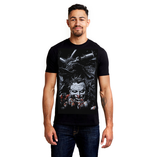 DC Comics Mens - Batman Wrath - T-shirt - Black
