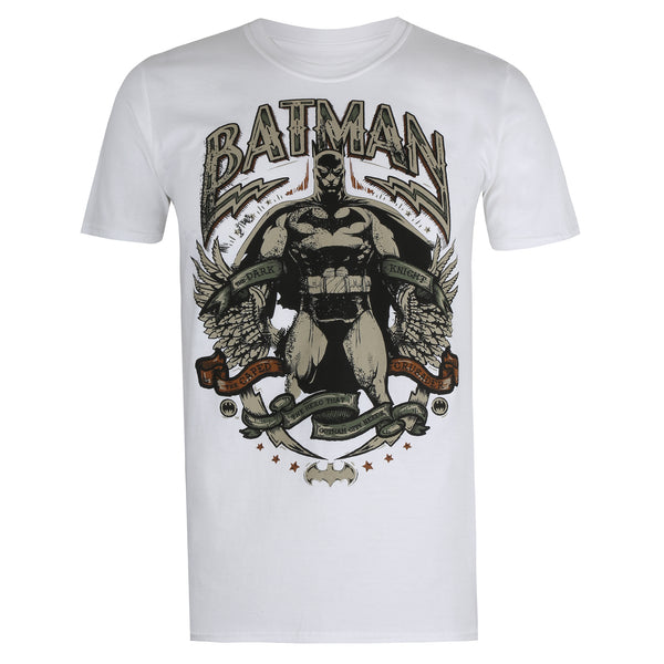 DC Comics Mens - Gotham Hero - T-shirt - White